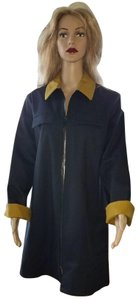 Trademark Cotton Label Double Breasted Trench Coat