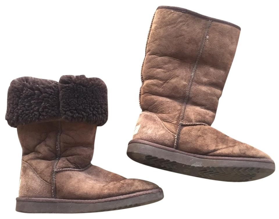f1c3c46e943 UGG Australia Brown Tall Classic Uggs Boots/Booties Size US 7 Regular (M, B)