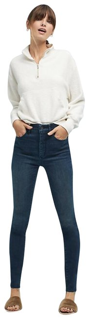 Item - Blue Medium Wash Pilcro and The Letterpress Ultra High-rise Skinny Jeans Size 26 (2, XS)