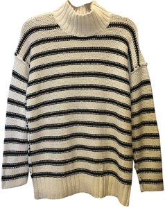 Lauren Ralph Lauren Stripe Cotton Linen Blend Size L 12 To 14 New With Tags Sweater
