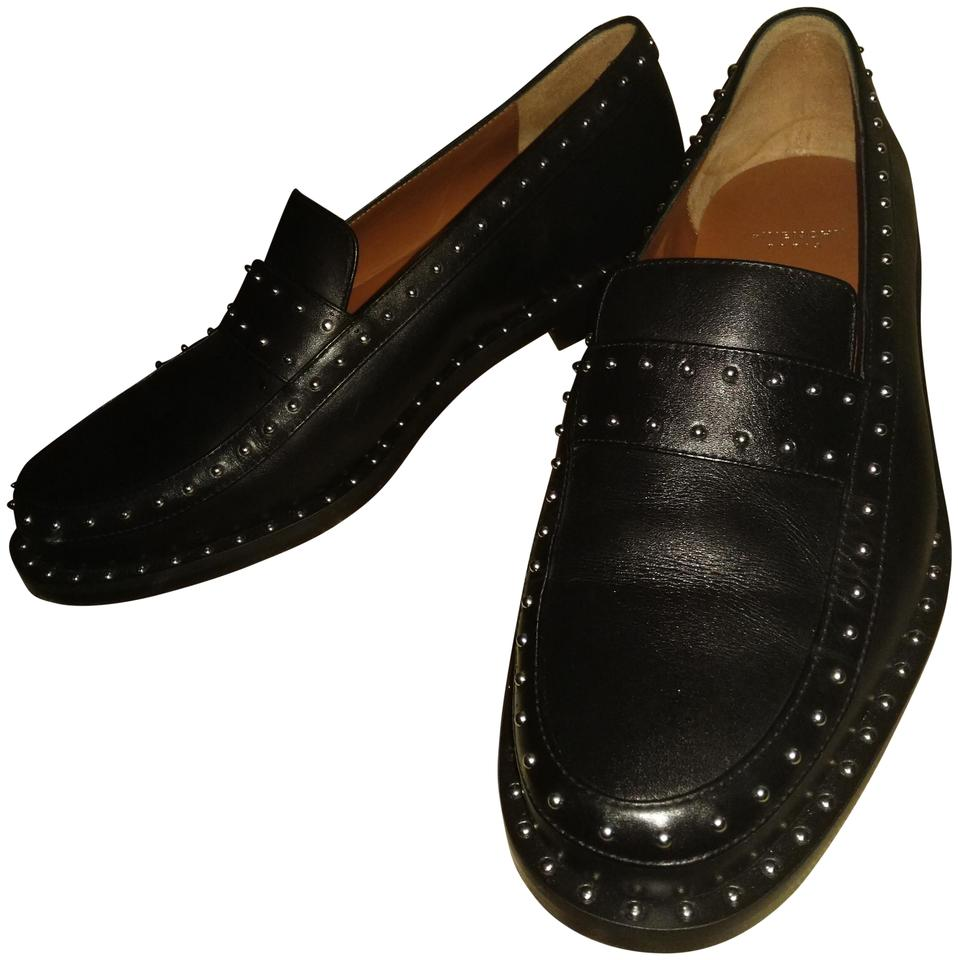 92e4100a88e Givenchy Black Silver Studs Paris Made In Italy with Loafers Pumps ...