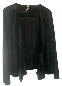 NY Collection Jacket Top Black (Onyx)
