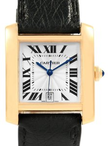 Cartier Cartier Tank Francaise Large 18K Yellow Gold Automatic Watch W5000156