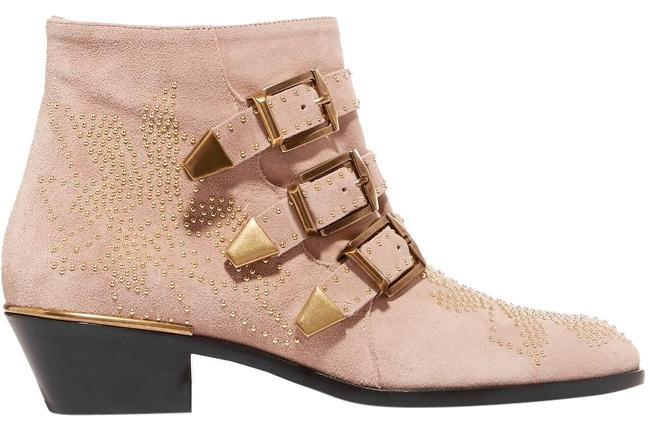 Item - Maple Pink Susanna Studded Suede Ankle Boots/Booties Size EU 38.5 (Approx. US 8.5) Regular (M, B)