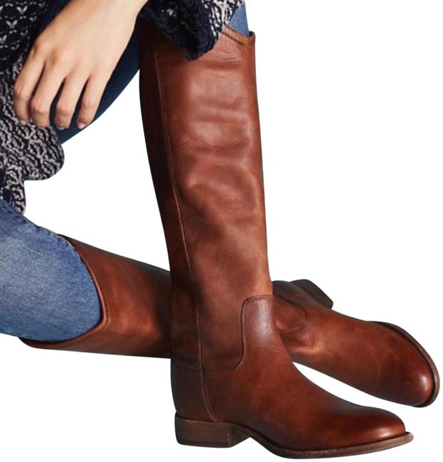 Item - Red Wood New Melissa Button Leather Riding Winter Boots/Booties Size US 8.5 Regular (M, B)