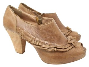 Miss Albright Anthropologie Tan Boots