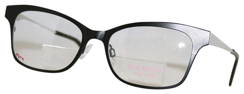 095fc02bd92 Isaac Mizrahi Black with White Polka Dot New Im 30016 Bk Prescription  Eyeglasses 52-17-135