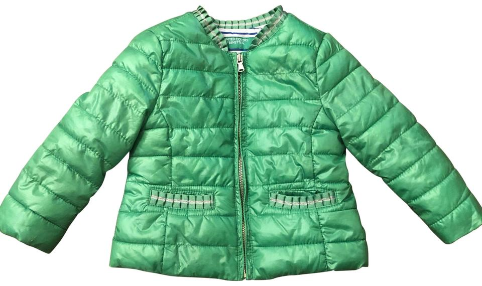 ddf8edddb United Colors of Benetton Green Kids Jacket Size OS (one size) - Tradesy