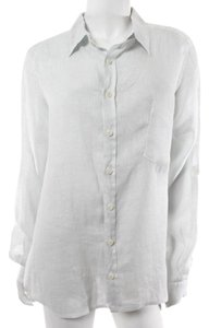 CP Shades Shirt Roll Up Sleeves Button Down Shirt Pale Blue