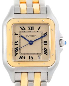 Cartier Cartier Panthere Large Steel Yellow Gold Two Row Unisex Watch W25028B8
