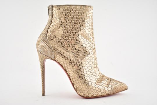 68c47d6da6a9 ... Christian Louboutin Stiletto Lace Gipsybootie Classic nude Boots Image 1