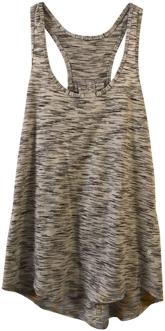 Item - Gray and Tan Lulu Activewear Top Size 6 (S)