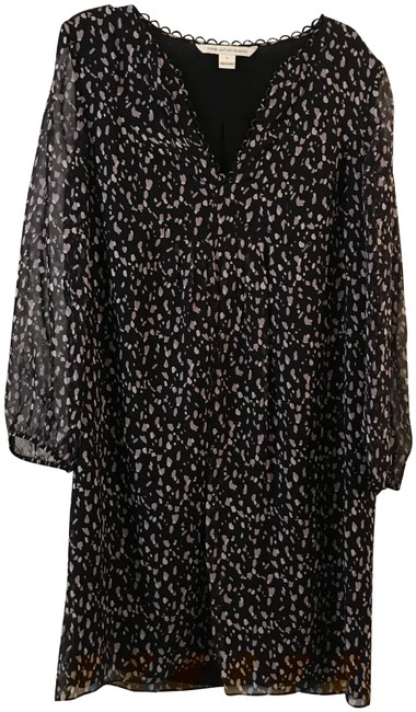Item - Black and Purple Mid-length Casual Maxi Dress Size 2 (XS)