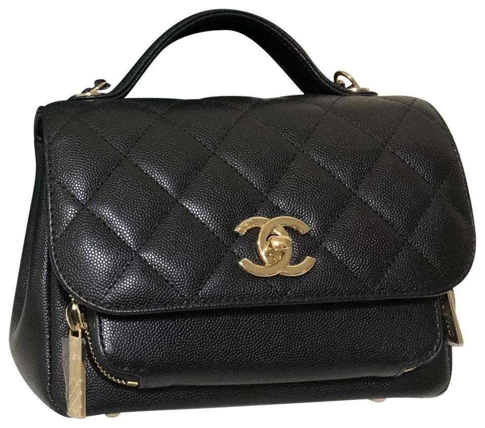 0e984d4e5d65 Chanel Small Business Affinity Black with Lghw Caviar Leather ...