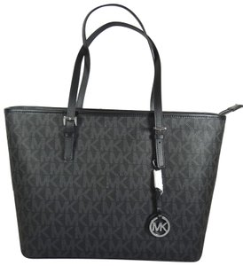 Michael Kors Pvc 190049668139 Tote in Black