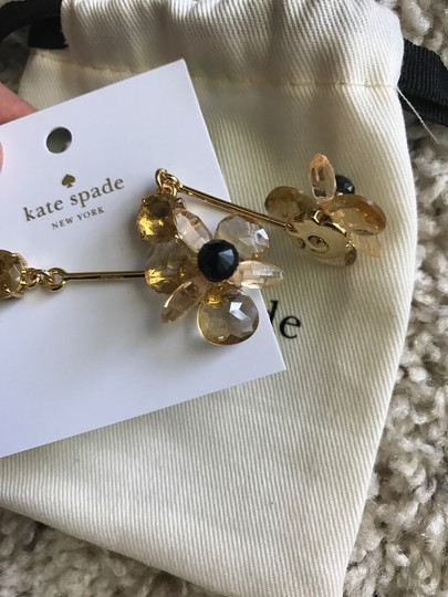 Kate Spade NWT ' BLOOMING BRILLIANT ' FLOWER DROP EARRINGS Image 4