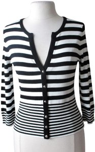White House | Black Market Striped Cardigan