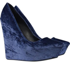 Theyskens' Theory Blue Wedges