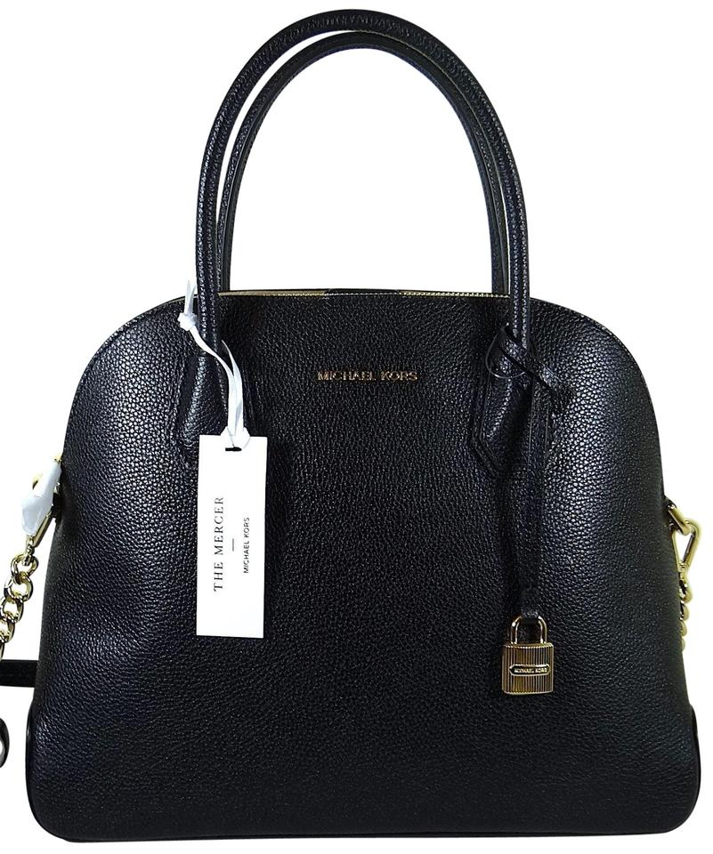 edae289b191c Michael Kors Leather 190864736914 Satchel in Black Image 0 ...