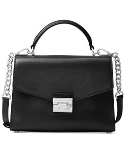 Michael Kors Leather 191935082923 Satchel in Black