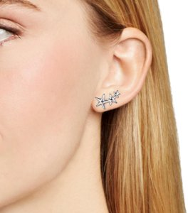 Bloomingdale's Sterling silver ear climbers