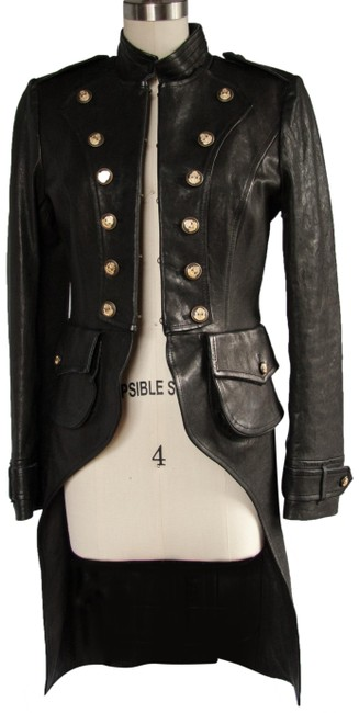 Item - Black Lambskin Jacket Size 8 (M)