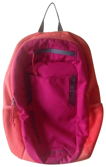 Item - Anacapa 20l Orange and Hot Pink Polyester Backpack
