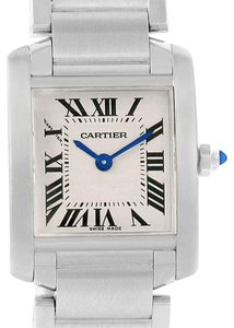 Cartier Cartier Tank Francaise Steel Small Ladies Watch W51008Q3 Box
