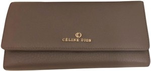 Celine Dion Taupe Clutch