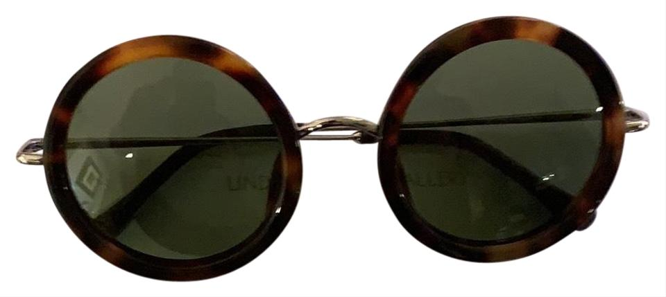 f8eb2e3a0961 The Row Dark Brown Linda Farrow Gallery For Sunglasses - Tradesy