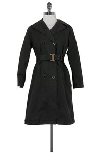 See by Chloé Charcoal Grey Cotton Coat