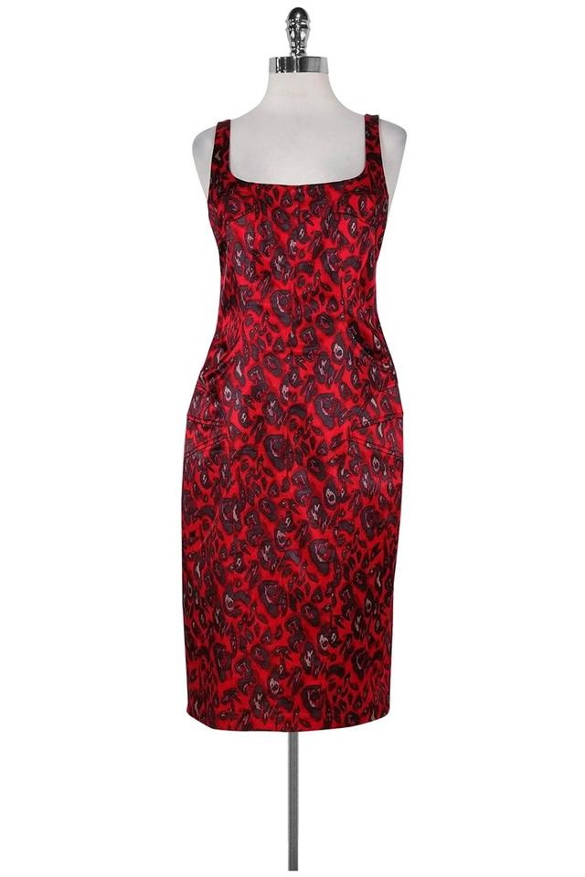 David Meister Red Short Casual Dress Size 8 (M) - Tradesy 682d5227e