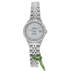 Rolex Ladies Rolex Oyster Perpetual Date 6516 Stainless Steel 6516 MOP 27