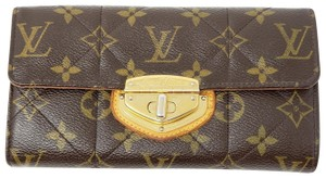 Louis Vuitton Authentic Louis Vuitton Long Wallet Etoile Browns Monogram 363951