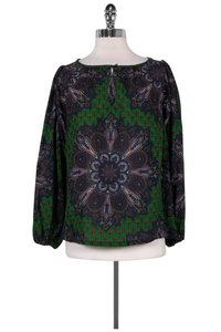 Marc by Marc Jacobs Multicolor Paisley Top