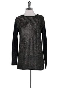 Helmut Lang Grey Knit Sweater