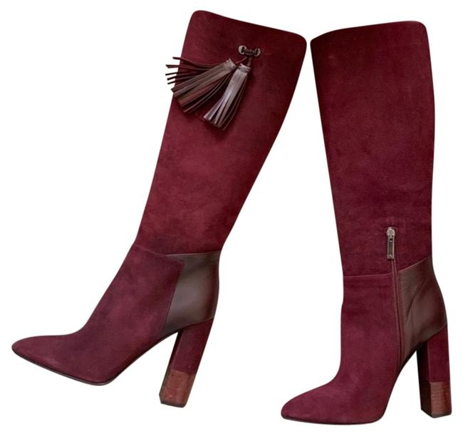 Item - Burgundy Oxblood Leather Boots/Booties Size US 8.5 Regular (M, B)