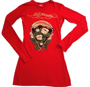 Ed Hardy T Shirt Red