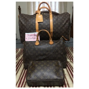 5ec915024 Louis Vuitton Keepall Lv Monogram Bundle Weekend/Travel Bag - Tradesy