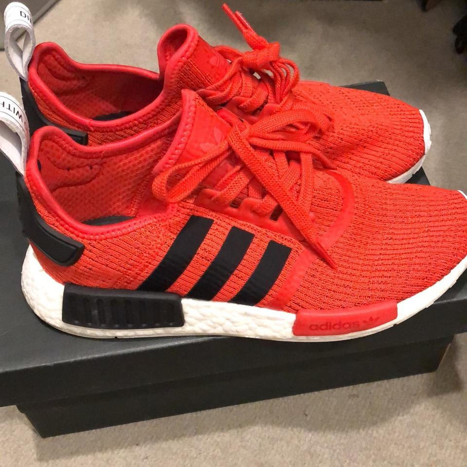 online store 19f12 daa9e adidas Red & Black Nmd_r1 Bb2885 Sneakers Size US 9 Regular (M, B) 41% off  retail