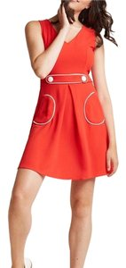 Modcloth short dress Candy Apple Red on Tradesy