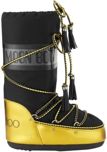 Jimmy Choo Acid Yellow & Black Boots
