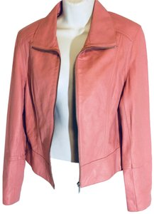 Uniform John Paul Richard Pink Leather Jacket