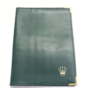 Rolex GREAT CONDITION!! Green Rolex Wallet Does not have inside Rolex Trademark!!