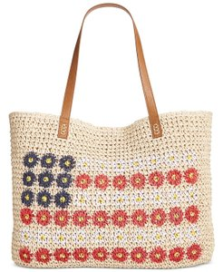 Style & Co Style&co Summer Straw Beige Beach Bag