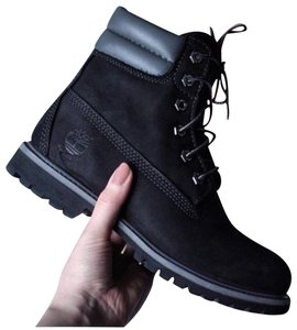 Timberland Black Boots