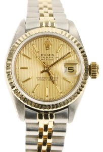Rolex Rolex Silver Datejust Watch
