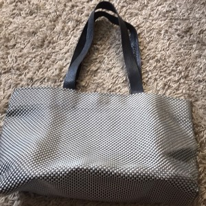 Chilewich Tote In Black And Gray