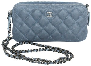 Chanel Wallet On Le Boy Cross Body Bag
