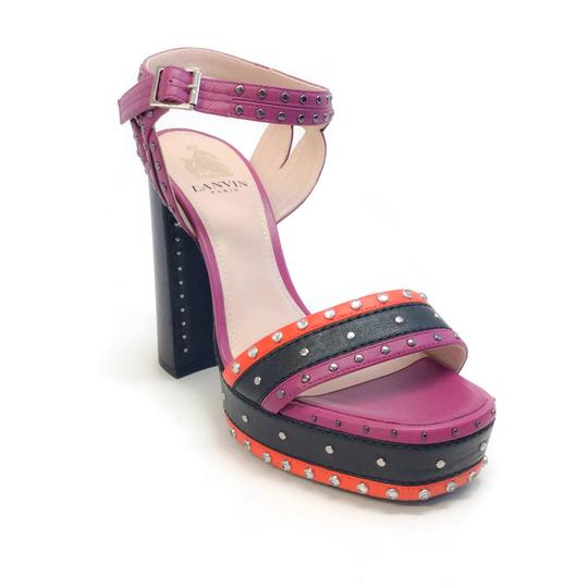 Preload https://img-static.tradesy.com/item/24462139/lanvin-purple-black-red-studded-platform-sandals-size-eu-37-approx-us-7-regular-m-b-0-0-540-540.jpg